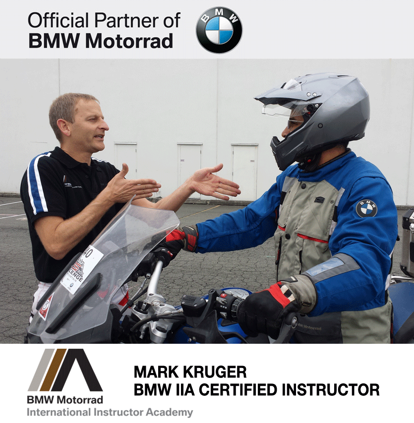 Mark Kruger BMW IIA Certified Instructor